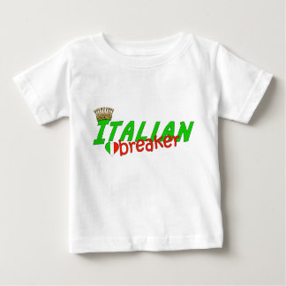 Italian Heart Breaker With Crown Tshirts