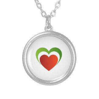 Italian heart custom jewelry