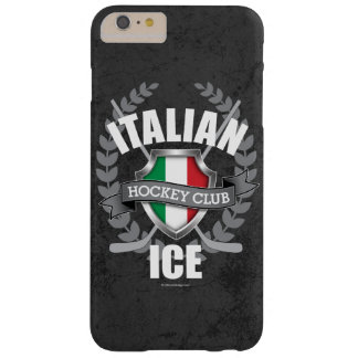 Italian Ice Hockey Barely There iPhone 6 Plus Case