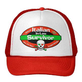 Italian In-Law Survivor Mesh Hats