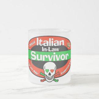 Italian In-Law Survivor Mugs