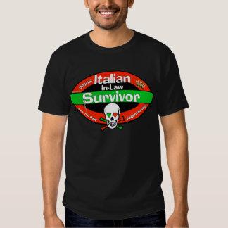 Italian In-Law Survivor Shirt