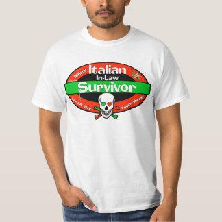 Italian In-Law Survivor T-Shirt