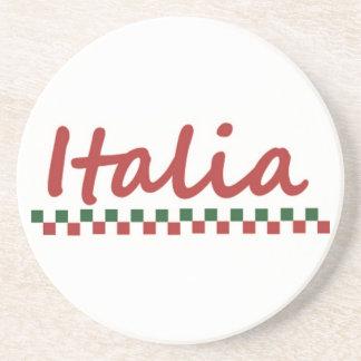 """Italian """"Italia"""" Italy Coaster"""