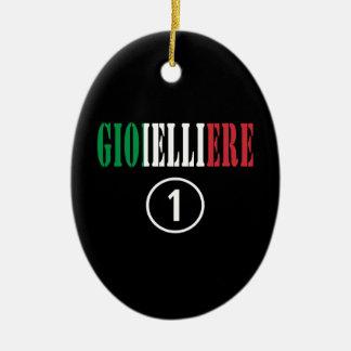 Italian Jewellers : Gioielliere Numero Uno Christmas Ornaments