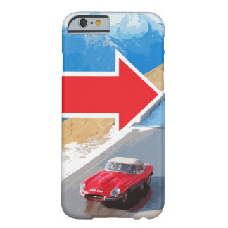 Italian Job Jaguar E-Type 848CRY Case Barely There iPhone 6 Case