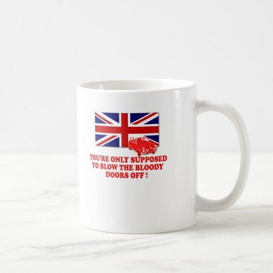 Italian Job Union Jack shirts Coffee Mug