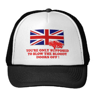 Italian Job Union Jack shirts Hats