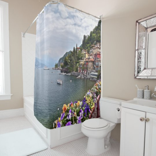 """ITALIAN LAKE DISTRICT"" FLOWER-BEDECKED WALKWAY SHOWER"