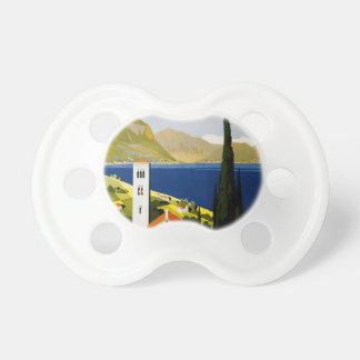 Italian lakes baby pacifiers