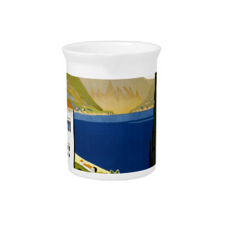 Italian lakes drink pitcher