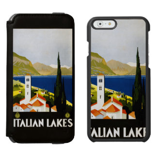 Italian Lakes vintage travel cases Incipio Watson™ iPhone 6 Wallet Case