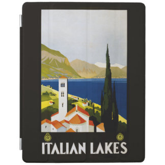 Italian Lakes vintage travel device covers