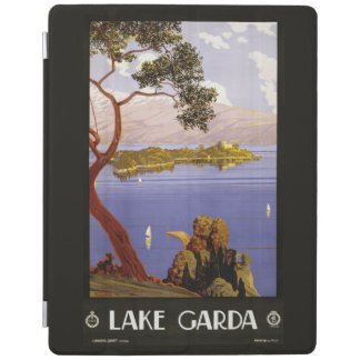 Italian Lakes vintage travel device covers iPad Cover