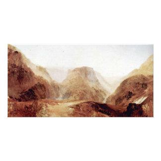 Italian Landscape By Turner Joseph Mallord William Customized Photo Card