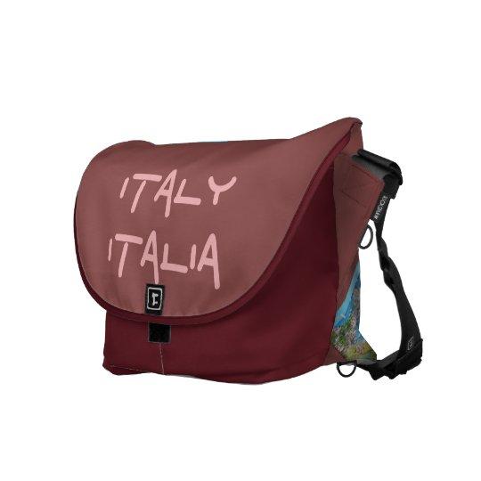 Italian Landscape, Large Messenger Bag