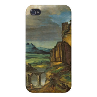 Italian Landscape or, Landscape with a Tomb iPhone 4/4S Cover