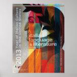 Italian Language and Literature Poster