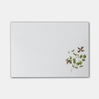 Italian leather flower(Clematis) by Redouté Post-it Notes