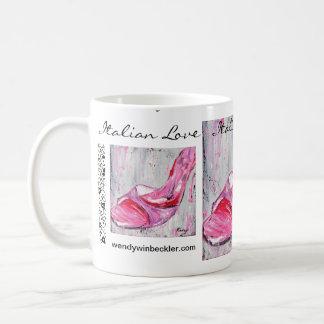 Italian Love Basic White Mug
