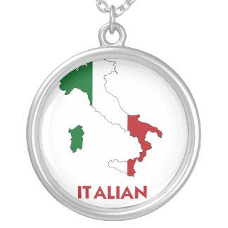 ITALIAN MAP CUSTOM NECKLACE