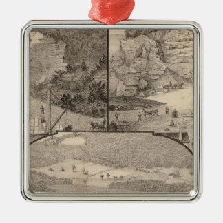 Italian Marble Mills and Quarries Christmas Ornament