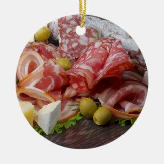 Italian Meat Platter Christmas Ornament