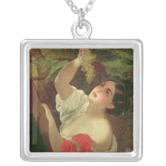 Italian Midday, 1831 Silver Plated Necklace