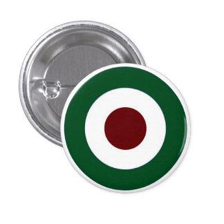Italian Mod Target 3 Cm Round Badge