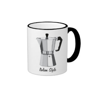 Italian Moka Ringer Mug