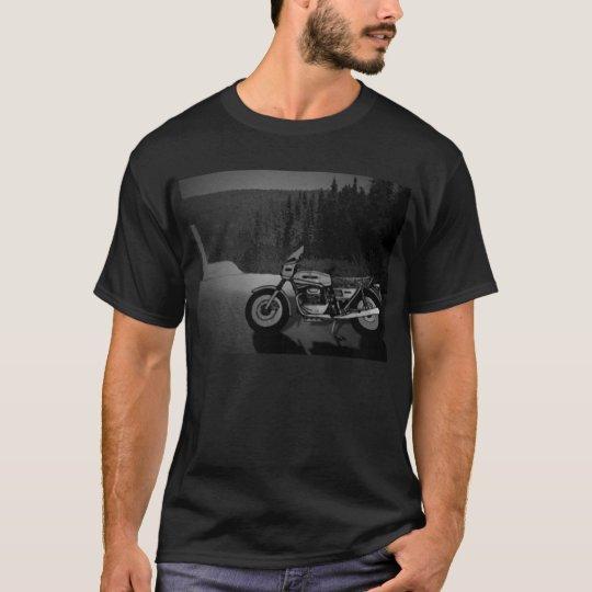 Italian Motorcycle Dark T-shirt