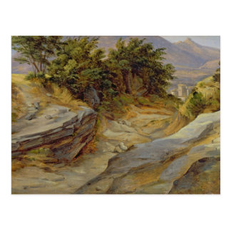 Italian Mountain Landscape, c.1824 Postcard