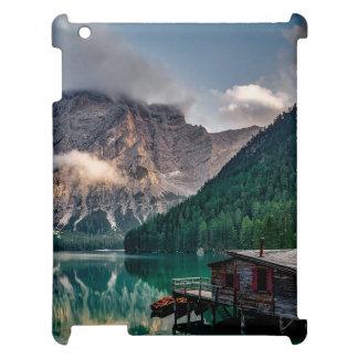 Italian Mountains Lake Landscape Photo Case For The iPad 2 3 4