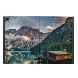 Italian Mountains Lake Landscape Photo iPad Air Cases