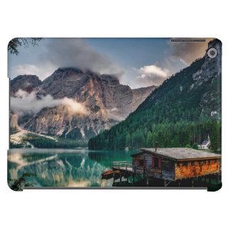 Italian Mountains Lake Landscape Photo iPad Air Covers