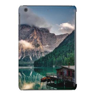 Italian Mountains Lake Landscape Photo iPad Mini Case