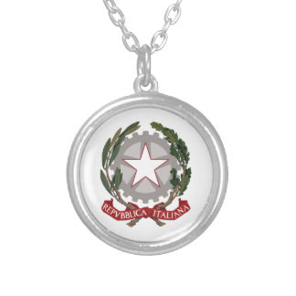 Italian National Emblem Necklaces