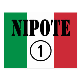 Italian Nephews Nieces & Grandchildren : Nipote #1 Postcard