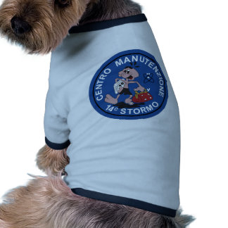 Italian Patch Air Force Aeronautica Militare AM 14 Doggie Tee Shirt