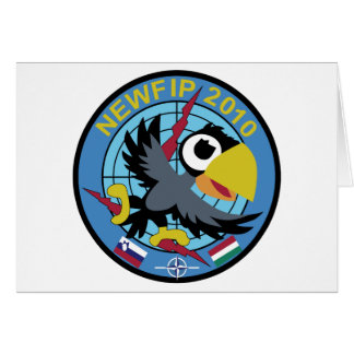 Italian Patch Air Force Aeronautica Militare AM 71 Greeting Cards