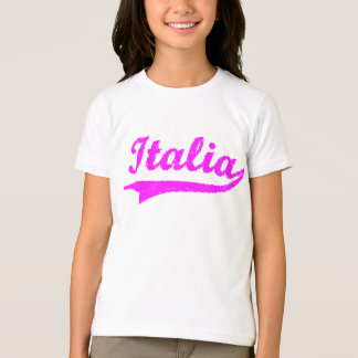 Italian Pink Girls (Black Ringer) T-Shirt