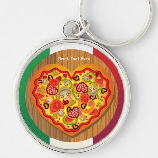 Italian Pizza Keychain