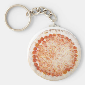 Italian Pizza Margherita (Margarita) Keychains