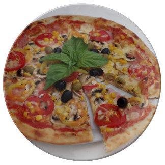 Italian pizza plate