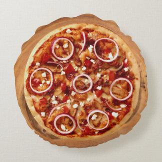 Italian Pizza Round Cushion