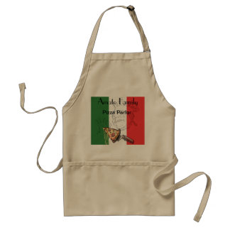 Italian Pizza Themed Apron