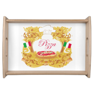 Italian pizza tray