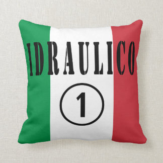 Italian Plumbers : Idraulico Numero Uno Throw Pillow