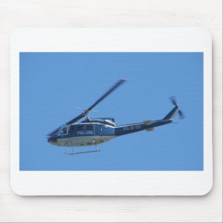 Italian Police helicopter. Mouse Mat