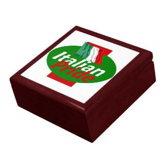 ITALIAN PRIDE LARGE SQUARE GIFT BOX